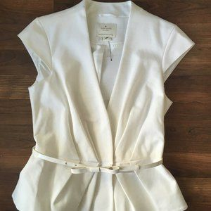 Kate Spade Blouse Cap Sleeve Top Size 2